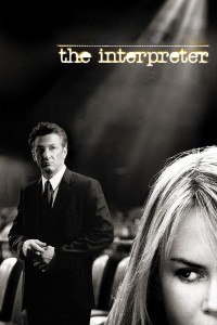 "Poster for the movie ""The Interpreter"""