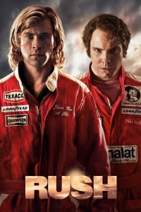 "Poster for the movie ""Rush"""
