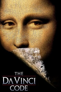 "Poster for the movie ""The Da Vinci Code"""