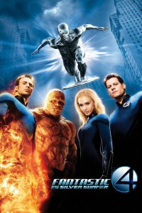 "Poster for the movie ""Fantastic 4: Rise of the Silver Surfer"""