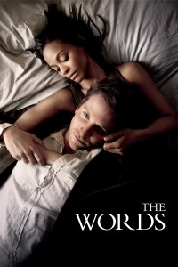 "Poster for the movie ""The Words"""