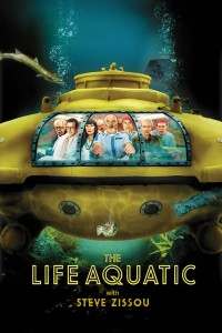 "Poster for the movie ""The Life Aquatic With Steve Zissou"""