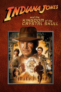 "Poster for the movie ""Indiana Jones and the Kingdom of the Crystal Skull"""