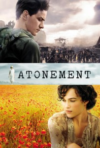 "Poster for the movie ""Atonement"""