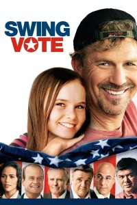 "Poster for the movie ""Swing Vote"""