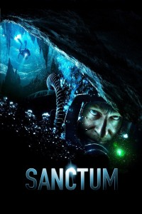"Poster for the movie ""Sanctum"""