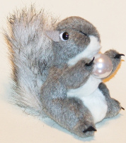 Order the Squirrel with a Pearl - Plush on DharmaSmart.com