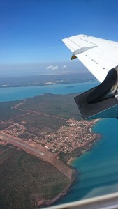 Photo taken by the author, as he flew out of this remote Aboriginal community.