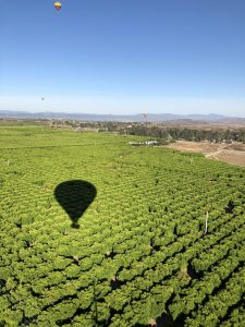 ballooning over Temecula